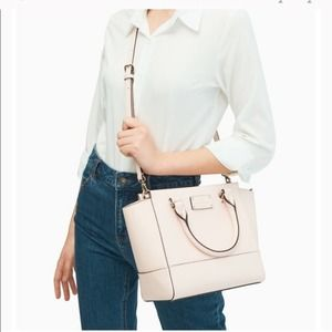 KATE SPADE Wellesley Small Camryn in Peach Puff